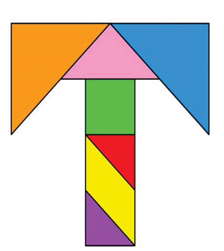 tangram coloring pages - photo#27
