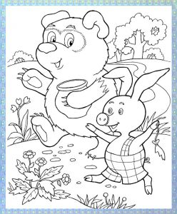 Winnie pooh coloring pages (1)