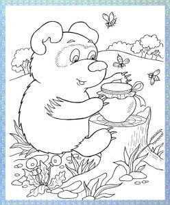 Winnie pooh coloring pages (3)