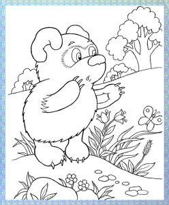 Winnie pooh coloring pages (5)