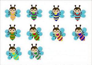 bee flower match
