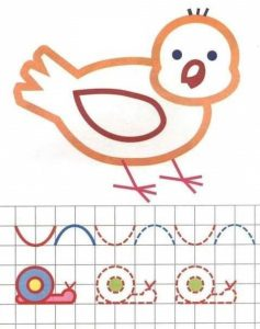 bird tracing and coloring worksheets