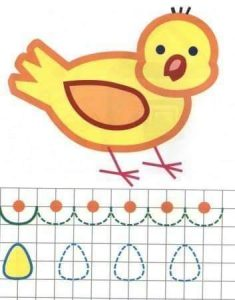 bird tracing worksheet