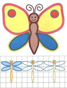 butterfly tracing sheet