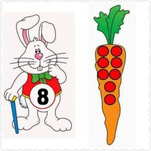 carrot number matching activity (1)