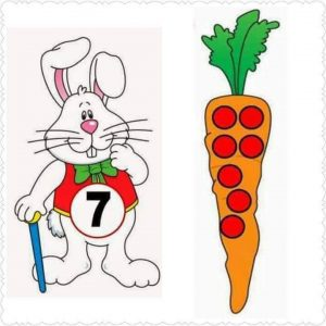carrot number matching activity (2)