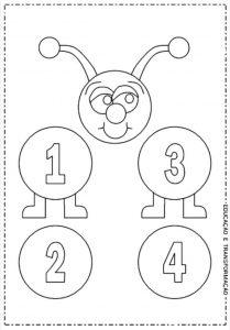 caterpillar number  coloring