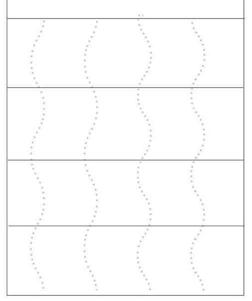 cutting practice worksheet – zig zag lines (2) Â« funnycrafts