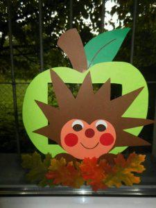 dıy hedgehog paper plate craft for kids (2)