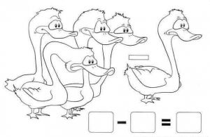 duck addition worksheet