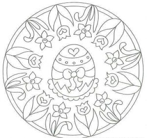 easter egg mandala coloring pages (1)