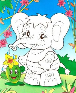 elephant activities for kindergarten (2)