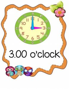 free telling time worksheets (1)