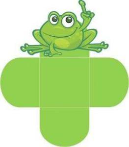 frog paper crafts