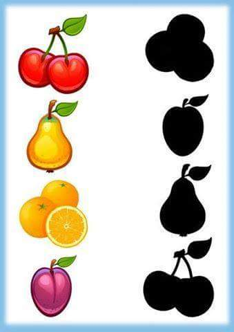 Fruits Shadow Matching 1 171 Funnycrafts