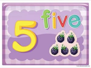 fun counting cards for preschool