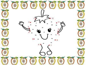fun dot a dot sheets for children
