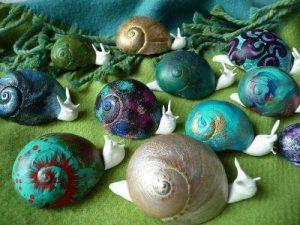 fun snail art and crafts (2)