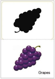 grapes shadow matching