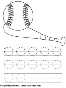 handwriting worksheets and printable activities for preschool (4)