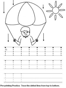 handwriting worksheets and printable activities for preschool (6)