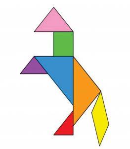 horse tangram