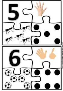kids number puzzle 5-6