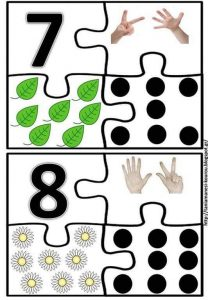 kids number puzzle 7-8
