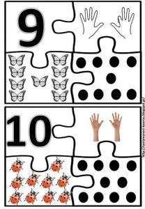 kids number puzzle 9-10