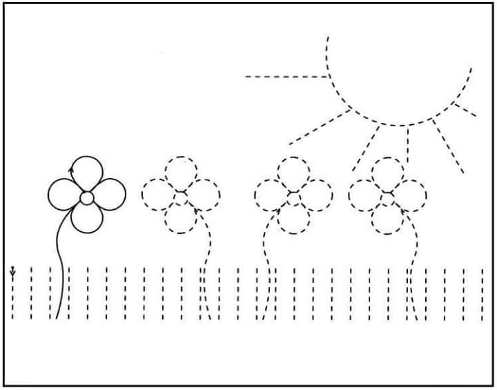 kindergarten printing practice (1) Â« funnycrafts