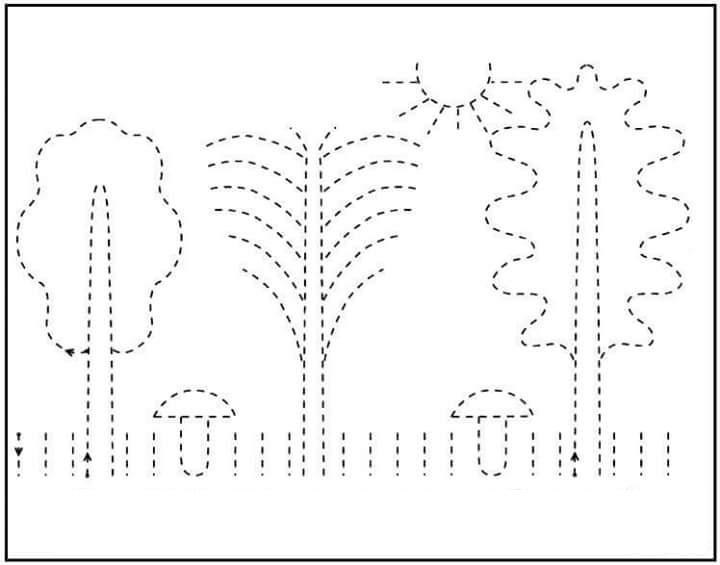 kindergarten printing practice 2 funnycrafts – Kindergarten Handwriting Practice Worksheets