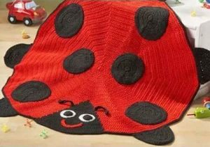 ladybug carpets for kids bedroom