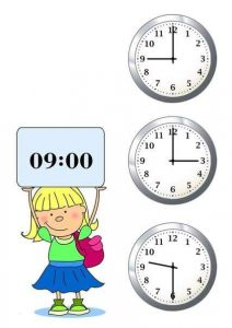 learning to tell time (1)