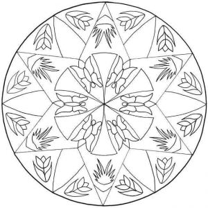 mandalas coloring pages & printables (2)