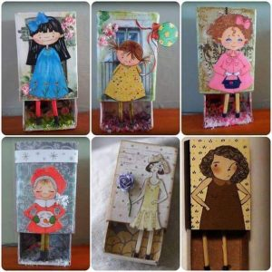 matchbox crafts patterns tutorials