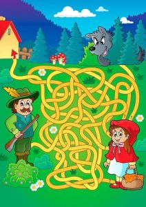 mazes, free printables, easy to hard (2)