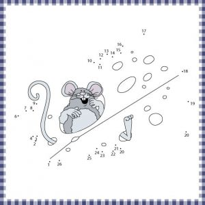 mouse connect the dot sheet