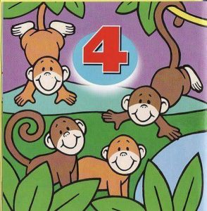 number free printables(animals) (4)