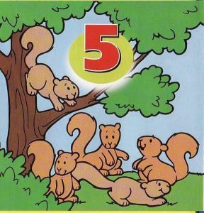 number free printables(animals) (5)