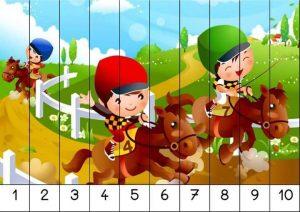number puzzles for kindergarten (2)