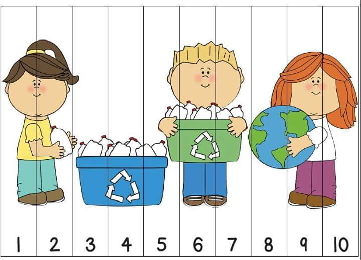 Number Recognition Ordering Puzzle Preschool Printables For Kids 3
