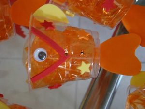 paper cup fish crafts