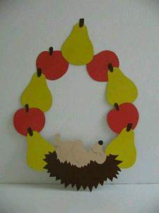 paper hedgehog, lampion egel, hedgehog hat, clip art,  (2)