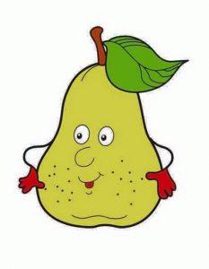 pear free printable