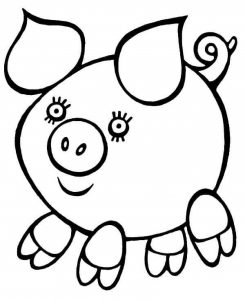 pig coloring pages (2)