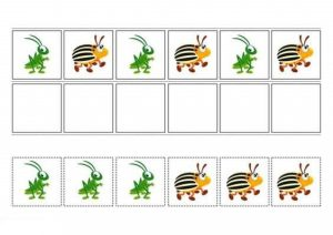 pre-k pattern activities for math