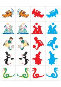 preschool shadow matching cards (2)