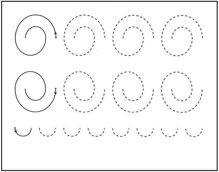 handwriting practice worksheets printable free practice sheets for kindergarten 1 - Activity Sheets For Kindergarten