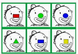 shape and color activities for preschool