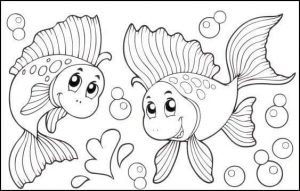 sweet fish coloring page (2)